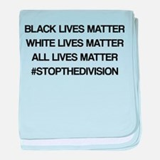 All Lives Matter baby blanket
