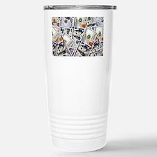 Cool Hundred dollar bill Travel Mug