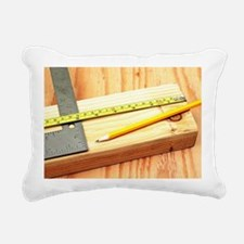 Cute Wood cutting Rectangular Canvas Pillow