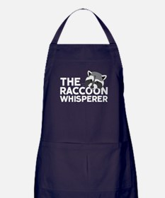 The Raccoon Whisperer Apron (dark)