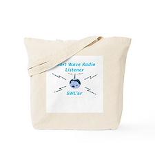 Short Wave Radio Listener Tote Bag