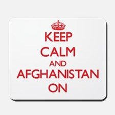 Keep calm and Afghanistan ON Mousepad