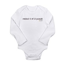 Cute Martial arts baby Long Sleeve Infant Bodysuit