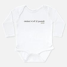 Cool Wrestling pin Long Sleeve Infant Bodysuit