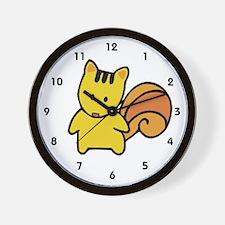 Cute Squirrel Wall Clock