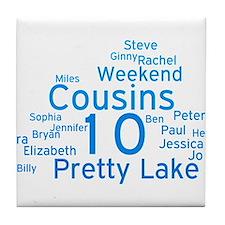 Pretty Lake 2015 Tile Coaster