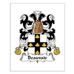 Beauvais Family Crest  Small Poster