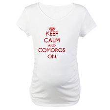 Keep calm and Comoros ON Shirt