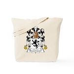 Beaurepair Family Crest Tote Bag