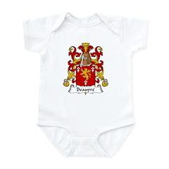 Beaupre Family Crest Infant Bodysuit