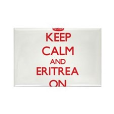 Keep calm and Eritrea ON Magnets