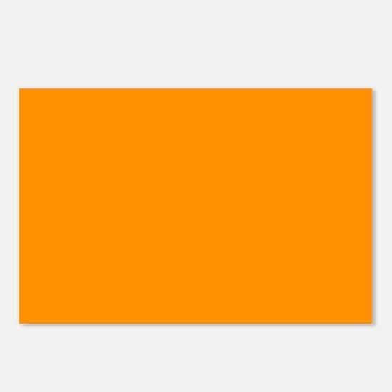 Solid Princeton Orange Postcards (Package of 8)