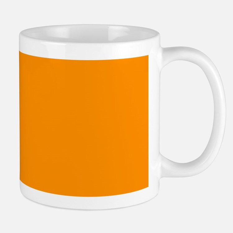 Solid Princeton Orange Mugs