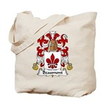 Beaumont Family Crest Tote Bag