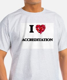 I Love Accreditation T-Shirt