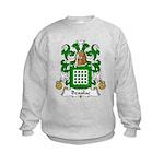Beaulac Family Crest Kids Sweatshirt