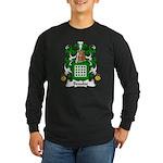 Beaulac Family Crest Long Sleeve Dark T-Shirt