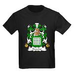 Beaulac Family Crest Kids Dark T-Shirt