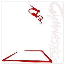 Floor - Red Poster