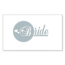 B is for Bride Rectangle Decal