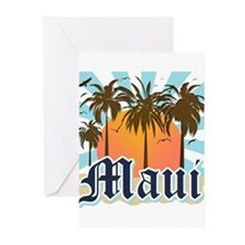 Maui Hawaii Greeting Cards