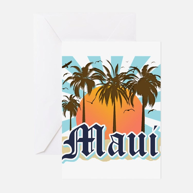 Maui Hawaii Greeting Cards