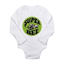 Cute Retro logos Long Sleeve Infant Bodysuit