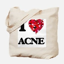 I Love Acne Tote Bag