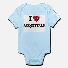 I Love Acquittals Body Suit