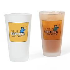 explore2 Drinking Glass