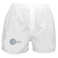G is for Groom Boxer Shorts