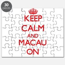Keep calm and Macau ON Puzzle