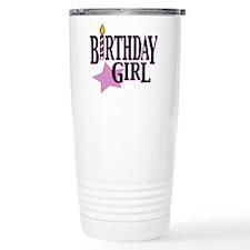Cute Birthday girl Travel Mug