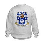 Beauchamp Family Crest Kids Sweatshirt