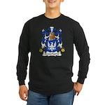 Beauchamp Family Crest Long Sleeve Dark T-Shirt