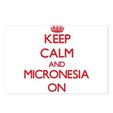 Keep calm and Micronesia Postcards (Package of 8)
