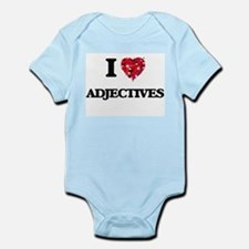 I Love Adjectives Body Suit