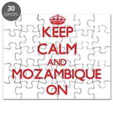 Keep calm and Mozambique ON Puzzle