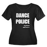 <i>Dance Police</i> Women's Plus Size Scoop Neck D