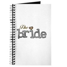 Silver and Gold Bride Journal