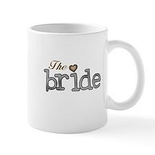 Silver and Gold Bride Mug