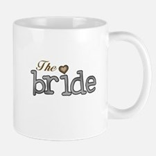 Silver and Gold Bride Mug