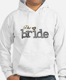 Silver and Gold Bride Hoodie