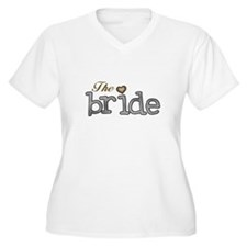 Silver and Gold Bride T-Shirt