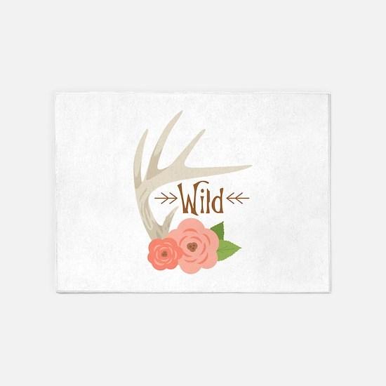 Wild Life 5'x7'Area Rug