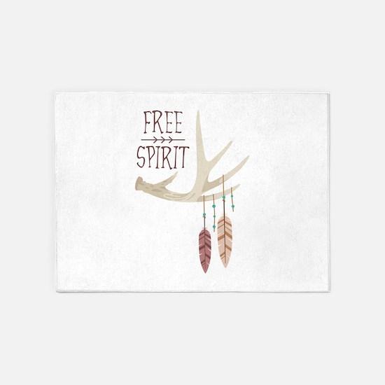 Free Spirit 5'x7'Area Rug