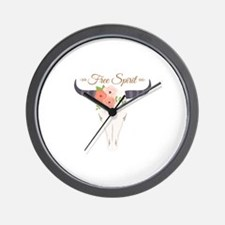 Free Spirit Wall Clock