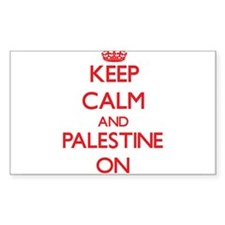 Keep calm and Palestine ON Decal
