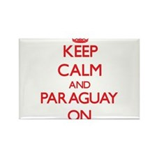 Keep calm and Paraguay ON Magnets