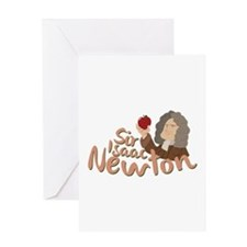 Sir Isaac Newton Greeting Cards